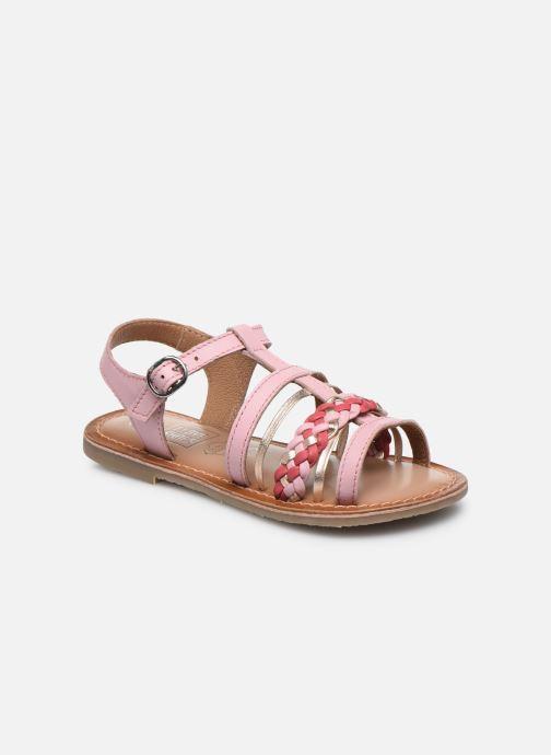 Sandales et nu-pieds I Love Shoes KETCHI Leather Rose vue détail/paire