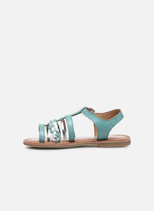 Sandali e scarpe aperte I Love Shoes KETCHI Leather Azzurro immagine frontale