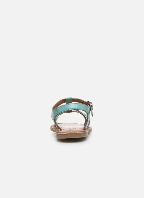 Sandalias I Love Shoes KETCHI Leather Azul vista lateral derecha