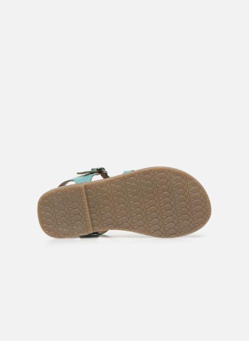 Sandali e scarpe aperte I Love Shoes KETCHI Leather Azzurro immagine dall'alto