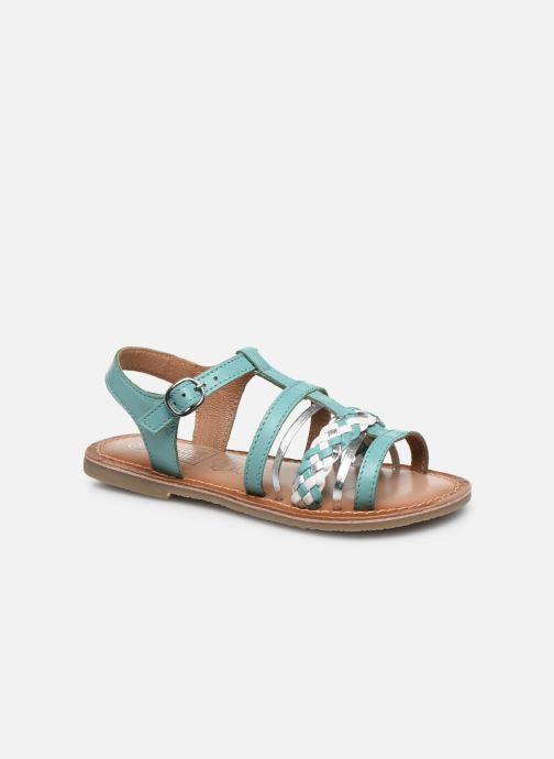 Sandales et nu-pieds I Love Shoes KETCHI Leather Bleu vue détail/paire