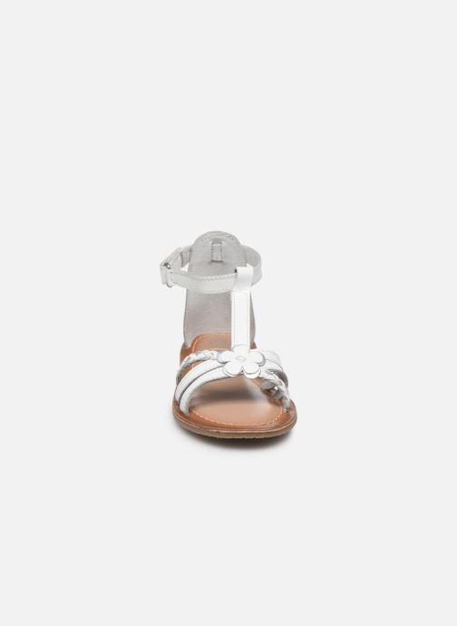 Sandales et nu-pieds I Love Shoes KEFLEUR Leather Blanc vue portées chaussures