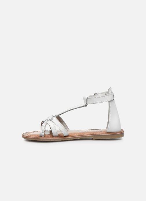 Sandales et nu-pieds I Love Shoes KEFLEUR Leather Blanc vue face