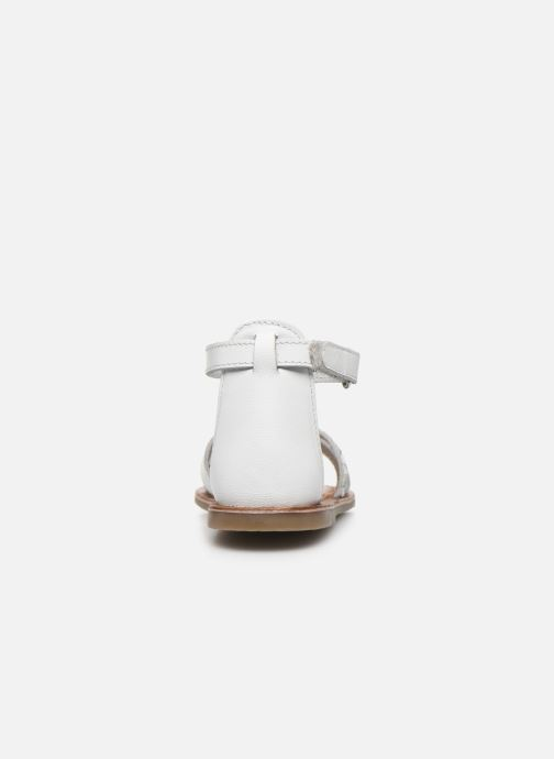 Sandalias I Love Shoes KEFLEUR Leather Blanco vista lateral derecha