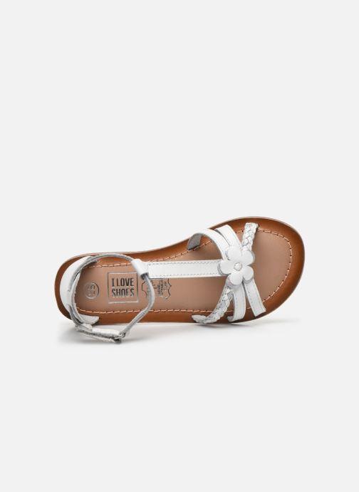 Sandales et nu-pieds I Love Shoes KEFLEUR Leather Blanc vue gauche