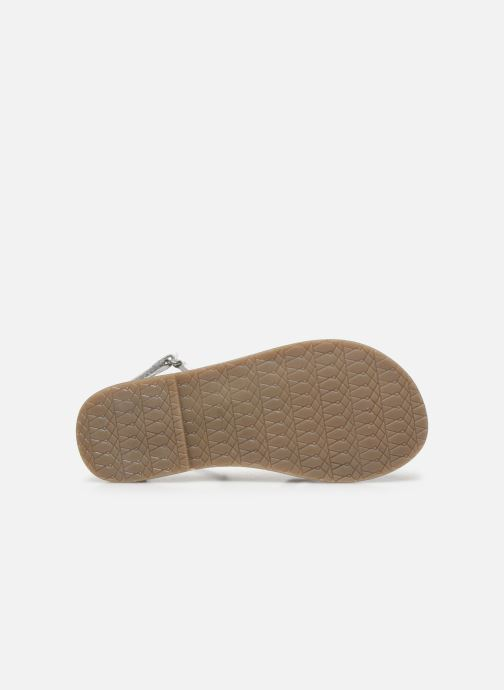 Sandales et nu-pieds I Love Shoes KEFLEUR Leather Blanc vue haut