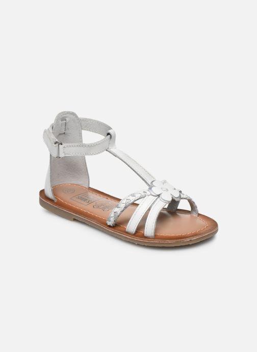 Sandales et nu-pieds I Love Shoes KEFLEUR Leather Blanc vue détail/paire