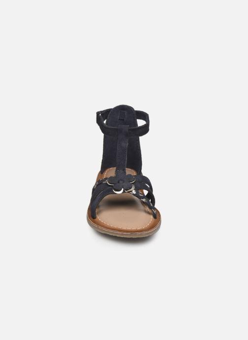 Sandales et nu-pieds I Love Shoes KEFLEUR Leather Bleu vue portées chaussures