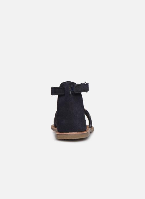 Sandalias I Love Shoes KEFLEUR Leather Azul vista lateral derecha