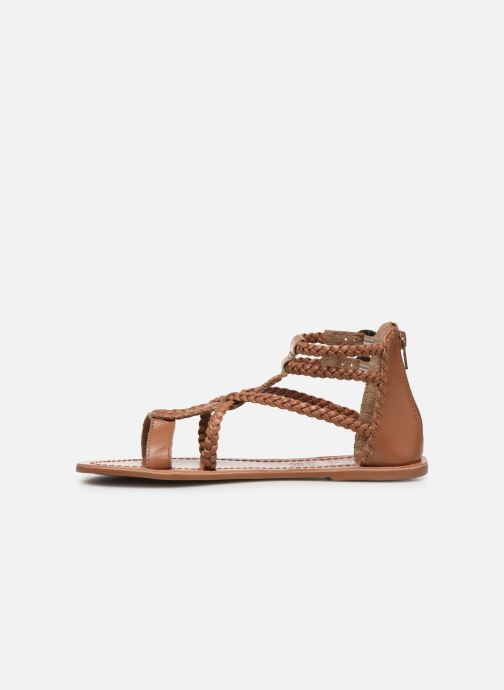 Sandales et nu-pieds I Love Shoes KELOU Leather Marron vue face