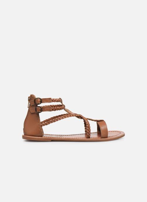 Sandales et nu-pieds I Love Shoes KELOU Leather Marron vue derrière