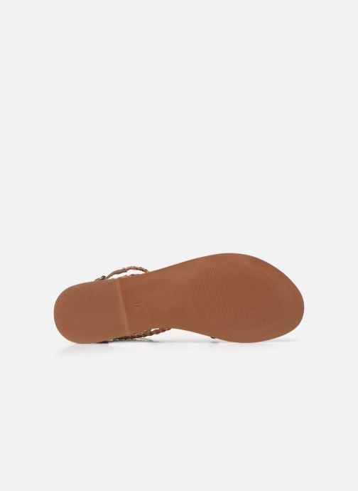Sandales et nu-pieds I Love Shoes KELOU Leather Marron vue haut