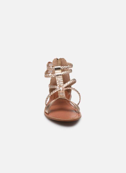 Sandales et nu-pieds I Love Shoes KELOU Leather Rose vue portées chaussures