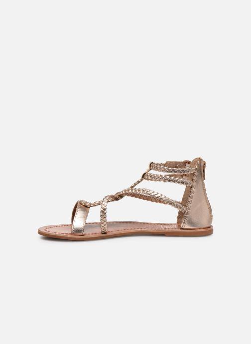 Sandaler I Love Shoes KELOU Leather Pink se forfra