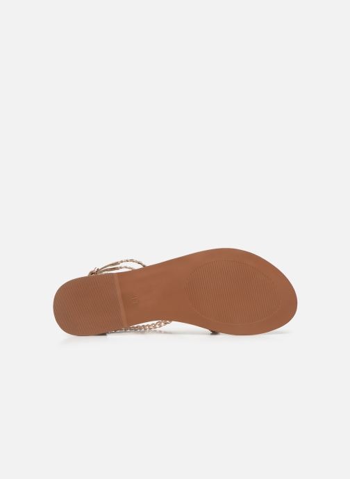 Sandali e scarpe aperte I Love Shoes KELOU Leather Rosa immagine dall'alto