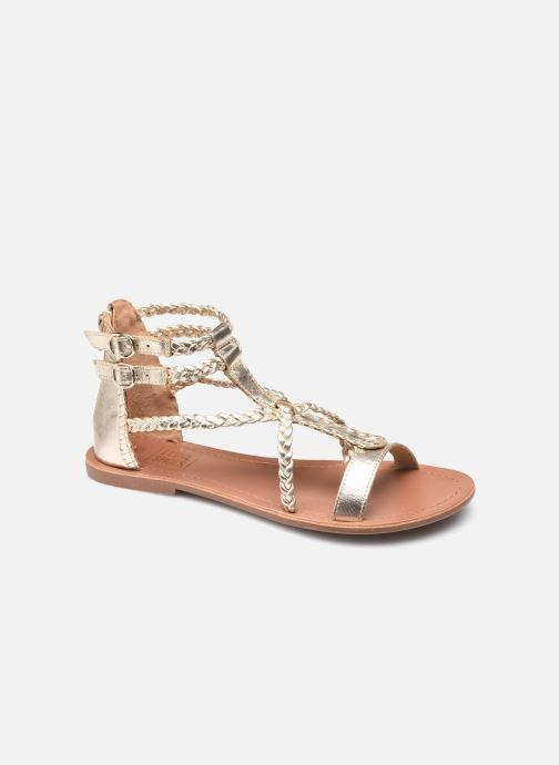 Sandales et nu-pieds I Love Shoes KELOU Leather Or et bronze vue détail/paire