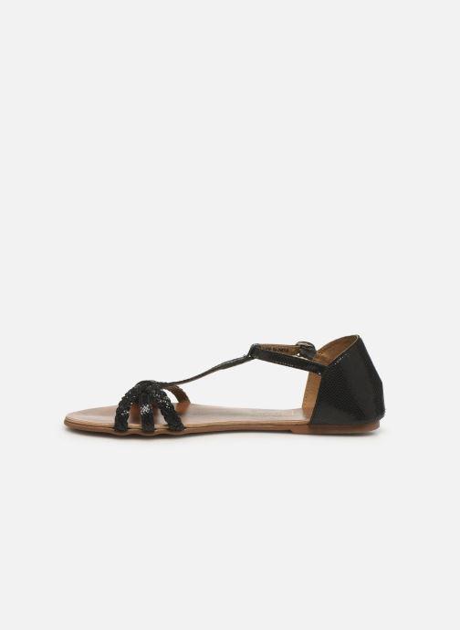 Sandales et nu-pieds I Love Shoes KESSIQUE Leather Noir vue face