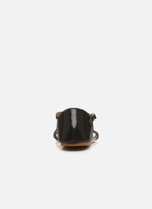 Sandalias I Love Shoes KESSIQUE Leather Negro vista lateral derecha
