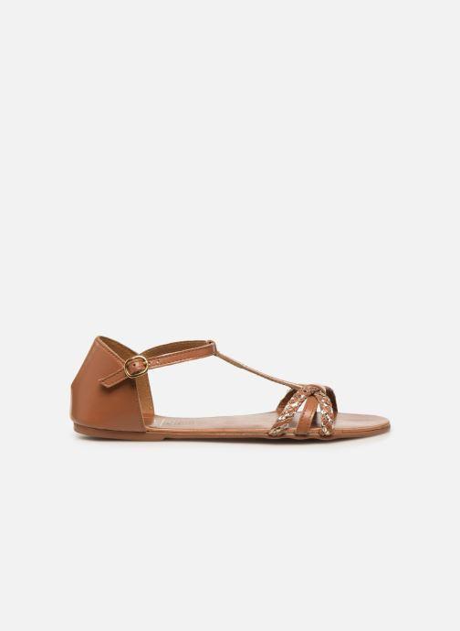 Sandales et nu-pieds I Love Shoes KESSIQUE Leather Marron vue derrière