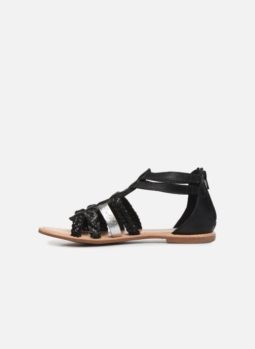 Sandales et nu-pieds I Love Shoes Ketina Leather W Noir vue face