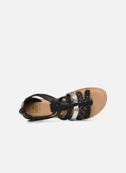 Sandales et nu-pieds I Love Shoes Ketina Leather W Noir vue gauche