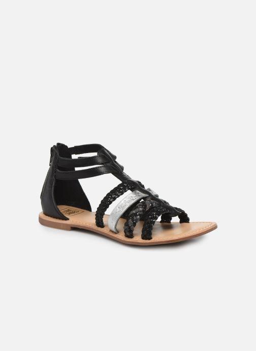Sandales et nu-pieds I Love Shoes Ketina Leather W Noir vue détail/paire