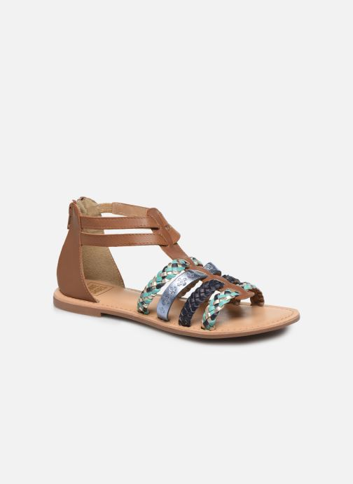 Sandalen I Love Shoes Ketina Leather W Bruin detail