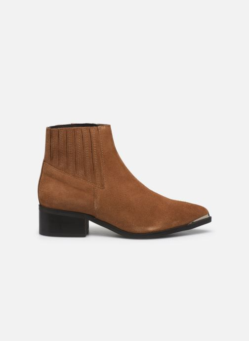 Botines  Vero Moda Vmaja Leather Boot Marrón vistra trasera