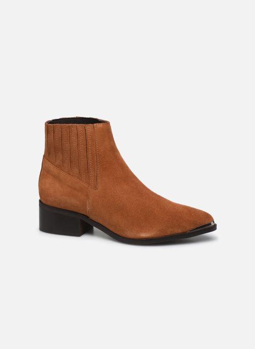 Botines  Vero Moda Vmaja Leather Boot Marrón vista de detalle / par