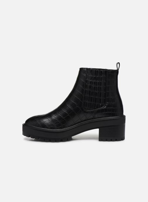Ankle boots Vero Moda Vmlisa Boot Wide Black front view