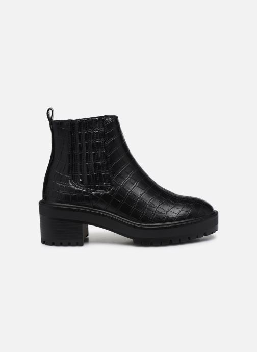 Ankle boots Vero Moda Vmlisa Boot Wide Black back view