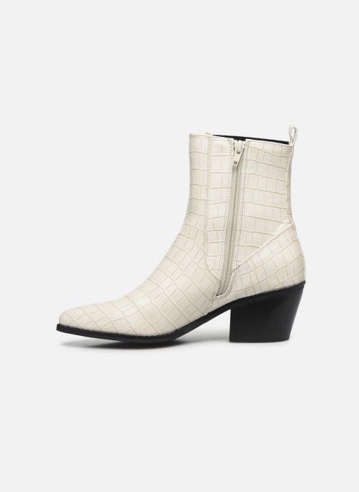 Bottines et boots Vero Moda Vmtoa Boot Blanc vue face