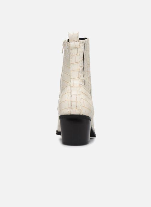 Bottines et boots Vero Moda Vmtoa Boot Blanc vue droite