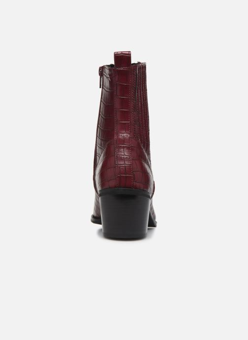 Ankle boots Vero Moda Vmtoa Boot Burgundy view from the right