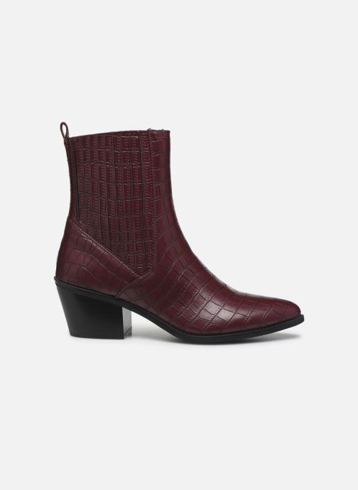 Ankle boots Vero Moda Vmtoa Boot Burgundy back view