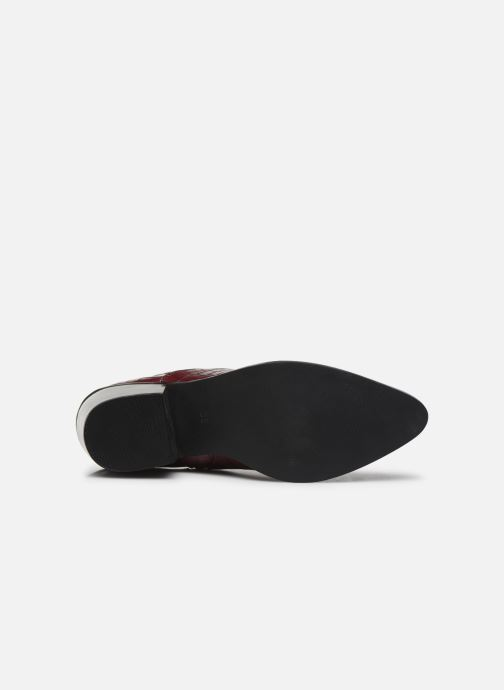Ankle boots Vero Moda Vmtoa Boot Burgundy view from above