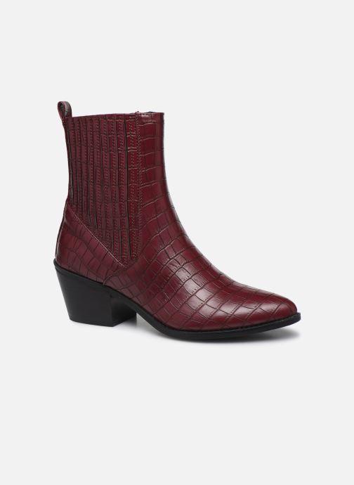 Bottines et boots Vero Moda Vmtoa Boot Bordeaux vue détail/paire