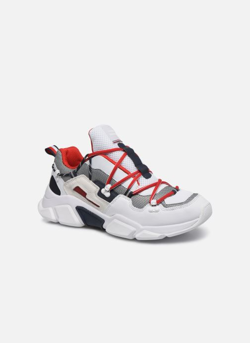Baskets Tommy Hilfiger CITY VOYAGER CHUNKY SNEAKER M Blanc vue détail/paire