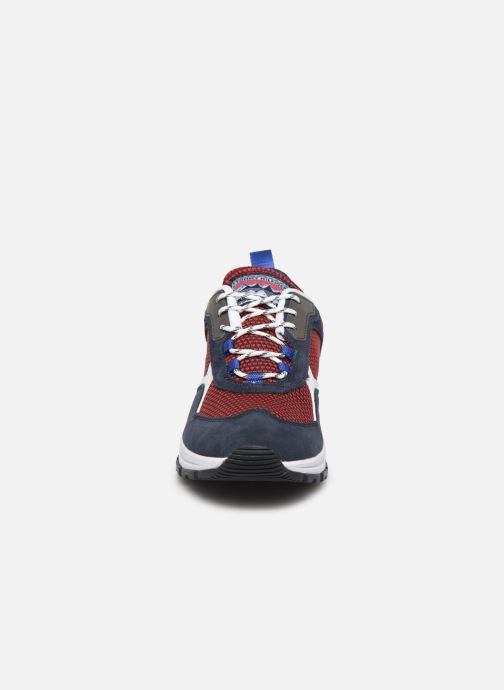 Baskets Tommy Hilfiger FASHION MIX SNEAKER Bleu vue portées chaussures
