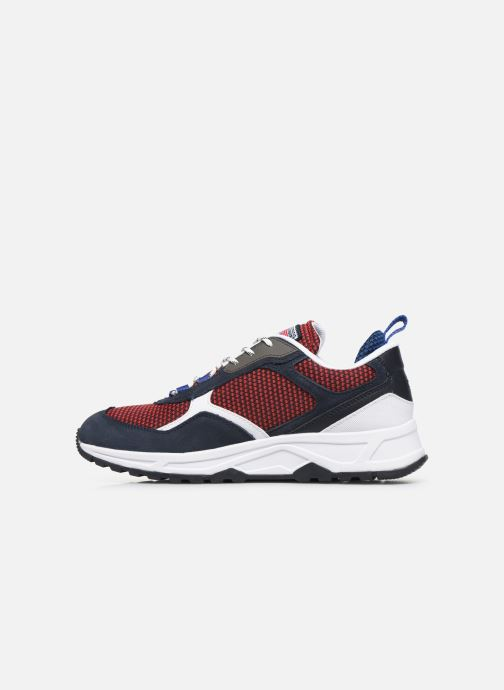 Sneakers Tommy Hilfiger FASHION MIX SNEAKER Blauw voorkant