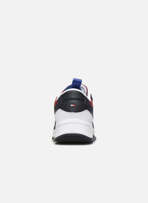 Sneakers Tommy Hilfiger FASHION MIX SNEAKER Blauw rechts