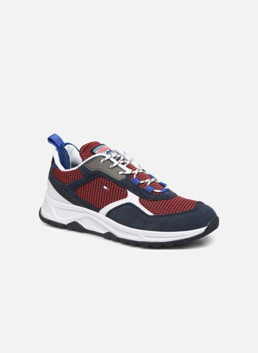 Sneakers Tommy Hilfiger FASHION MIX SNEAKER Blauw detail