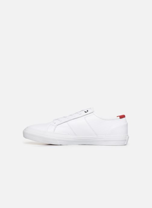 Baskets Tommy Hilfiger CORE CORPORATE FLAG SNEAKER Blanc vue face