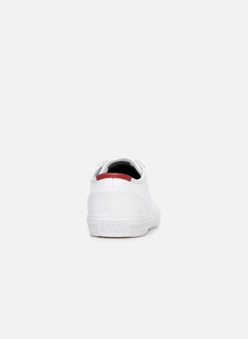Baskets Tommy Hilfiger CORE CORPORATE FLAG SNEAKER Blanc vue droite