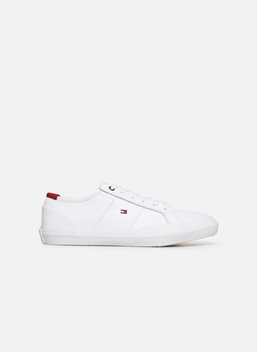 Baskets Tommy Hilfiger CORE CORPORATE FLAG SNEAKER Blanc vue derrière
