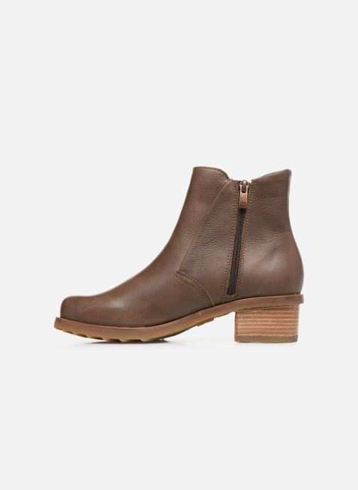 Bottines et boots El Naturalista Kentia N5106 Marron vue face