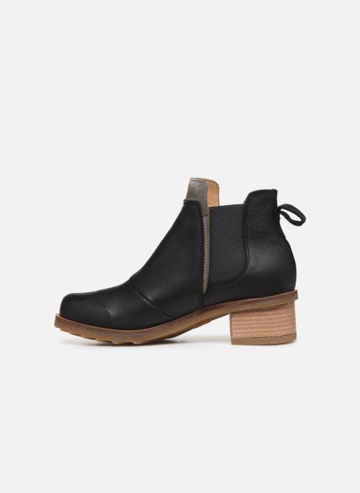 Bottines et boots El Naturalista Kentia N5112 Noir vue face