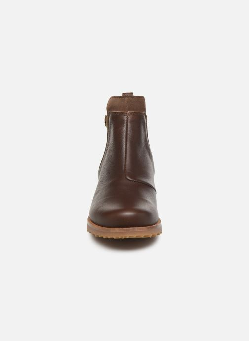 Ankle boots El Naturalista Kentia N5112 Brown model view