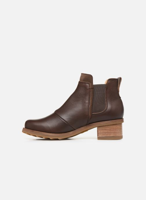 Ankle boots El Naturalista Kentia N5112 Brown front view