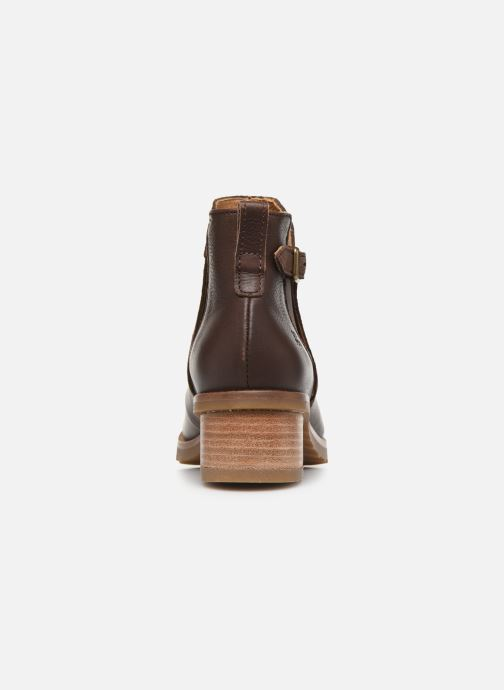 Ankle boots El Naturalista Kentia N5112 Brown view from the right